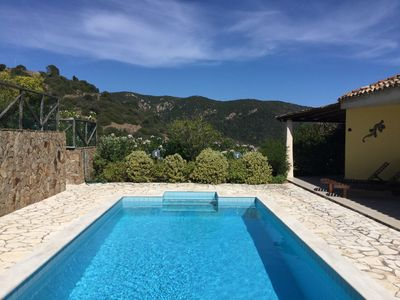 Photo for Modern, spacious villa with heated  pool 5 min. from Chia with WIFI and AC