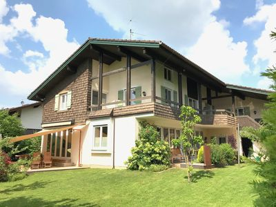 Photo for Modern private villa centrally located between Chiemsee & Alpen, 5-star DTV-certified