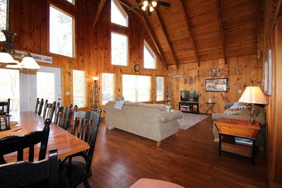 Walk in to see the huge, open Great Room.