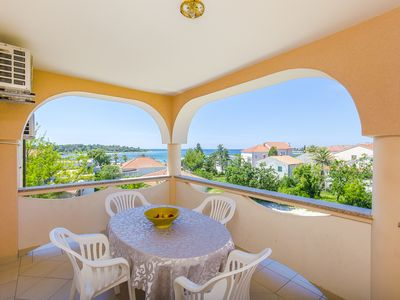 Photo for Sunny Two-Bedroom Suite with a Sea View Terrace