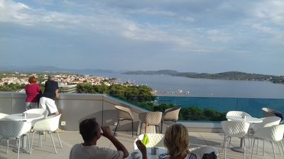 Photo for Vodice Dalmatia beach 4-star stylish, quiet and comfortable - feeling at home