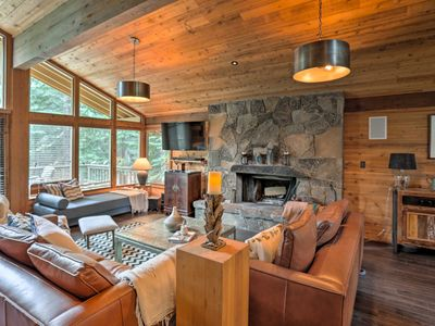 Photo for Expansive 4BR Truckee Cabin w/ Resort Amenities!