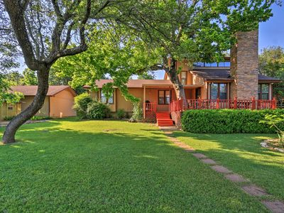 Photo for Spacious Lake Granbury Home w/ Patio & Boat Dock!