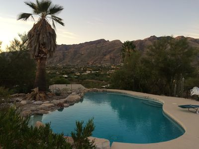 Photo for Catalina Foothills, Spectacular views. WiFi, Bicycles, Pool, Tennis & Basketball