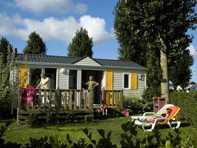Photo for Camping Le Ridin **** - Cottage Les Mouettes 3 Rooms 4 People