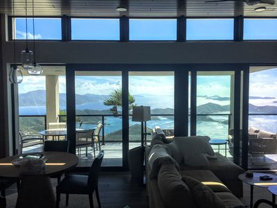 Without question, the best views in the Virgin Islands in a gorgeous villa.