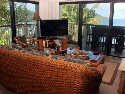Waterfront, wrap around balcony. Lower $ available for longer stays. C8