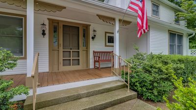 Northgate is a cute home in downtown Saugatuck.
