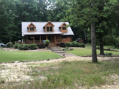 Photo for Log Cabin Home in the woods/ UGA games/Events/Weddings- NEW LISTING!!