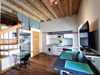 Photo for LE CYGNE, the loft apartment classified 3 stars
