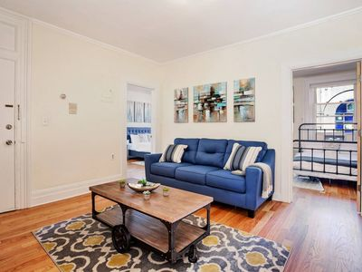 Photo for GORGEOUS 2BR/1BA in Trendy JC! Min to NY! Sleeps 8