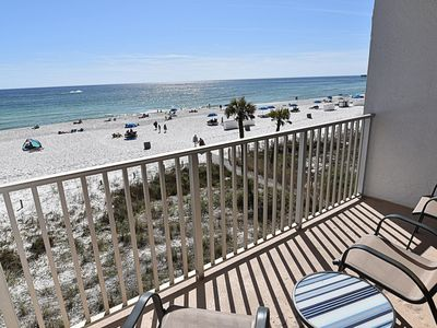 Photo for Updated Beachfront Condo - Booking Summer Weeks