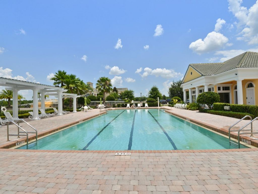 4Bed/3Bath in Gated Community with Private Pool! Near Disney