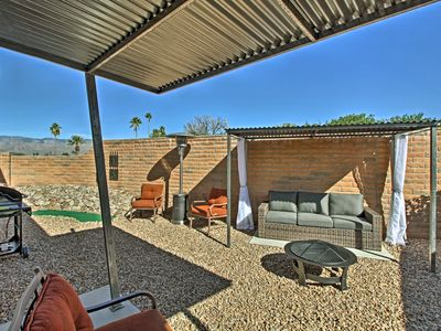 Photo for Tucson Home w/Landscaped Backyard Patio & Fire Pit