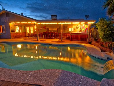 Photo for Large house with a pool and Jacuzzi /sleeps 12