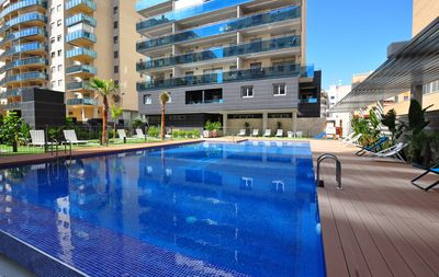 Photo for Brand New Sunny Apartment with Balcony, Pool and Wi-Fi