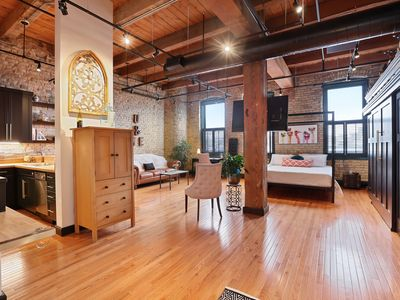 Photo for True Loft in the heart of the North Loop - The Warehouse District in Minneapolis