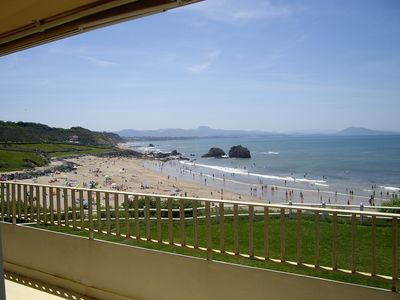 Photo for BIARRITZ MILADY 120 M2 WATERFRONT POOL TENNIS