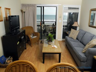 Photo for Tilghman Beach and Racquet Club Unit: 224! Oceanfront 3 Bedroom Condo. Book now for best rates!