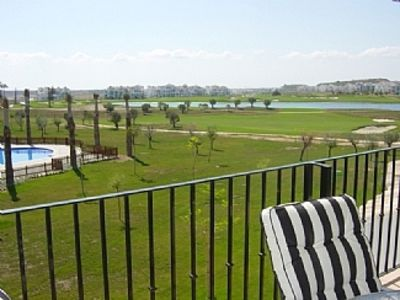Photo for 2nd Floor Apartment, Pool and Fairway Views