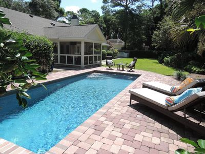 Photo for July just opened up!  2 Masters!  Private Pool!