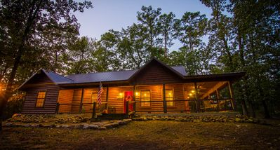 Photo for Shine on Harvest Moon: Sleeps 6, Hot Tub, Gas fireplace, Pet friendly