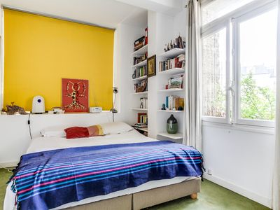 Photo for Large two-level flat with sun-room & terrace near Luxembourg gardens & Catacombs