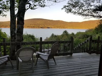 Photo for Crow's Nest oceanfront Cottage surrounded by Acadia park - minutes to bar harbor