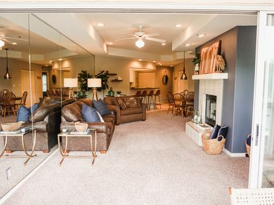 Photo for Clean, Cozy, Convenient with a View! Close to Outlets, Restaurants, and Strip!
