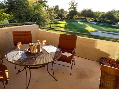 Photo for Gainey Ranch with Golf Course Views of the 8th hole