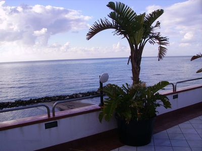 Photo for APARTMENT WITH TERRACE ON THE SEA