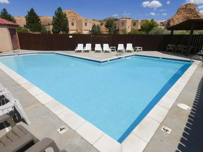 Photo for 3392 | 2 Bedroom Condo By Golf Course | Beautiful Community Pool | Free Wi Fi