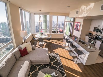 Photo for Private High-Rise in ❤ of DT w/ City & Ocean Views! | by AvantStay