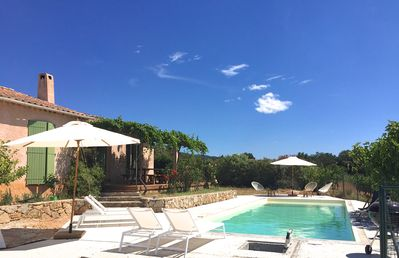 Photo for Villa surrounded by vineyards in Hyères