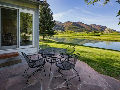 Photo for Dalton Ranch Home on 12th Fairway - Water and Mountain Views