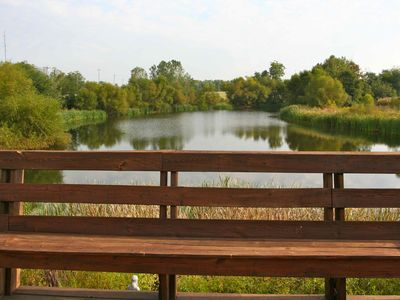 Photo for Lake House With Very Nice Stocked Fishing Lake On Site