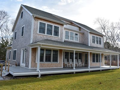 Photo for Skecheconet 5- Contemporary 5 bedroom, 5 bath West Harwich home sleeping 12