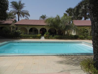 Photo for Detached self catering villa with pool sleeps 6