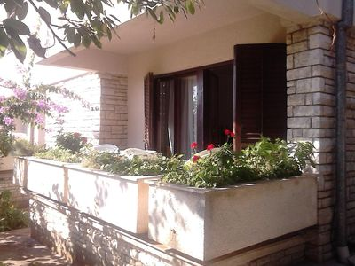 Photo for Two bedroom apartment with balcony Zadar - Diklo, Zadar (A-13327-a)