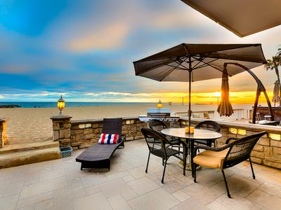 Photo for Amazing Beach Home On the Sand + Walk to it All!