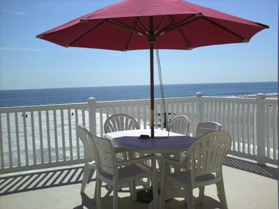 Photo for Oceanfront Penthouse Condo with Private Deck