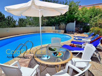 Photo for Cozy 2 Bedm Villa,Prime Location Coral Bay,Large Pool,Jacuzzi/sauna,Table Tennis