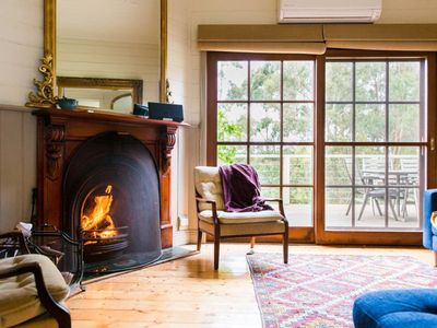 Photo for Oakwood Retreat - Complete Seclusion - Dog Friendly - Wood Fire