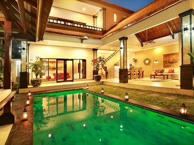 Photo for De Liza 3BR Pool Villa Seminyak Beachside