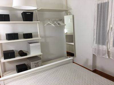 Marina Di Castagneto Carducci Apartment Rental   The Open Air Cupboards In  The Sleeping Room Allows