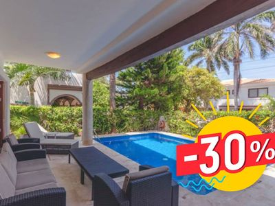 Photo for 30% Discount! Complete Villa with Private Pool & 1 minute walk to the ocean