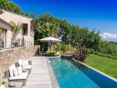 Photo for Luxurious villa of 400m² in the village of Saint-Tropez