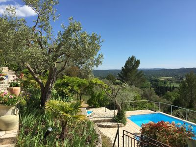 Photo for Superb house in olive grove with stunning views and private pool : sleeps 7
