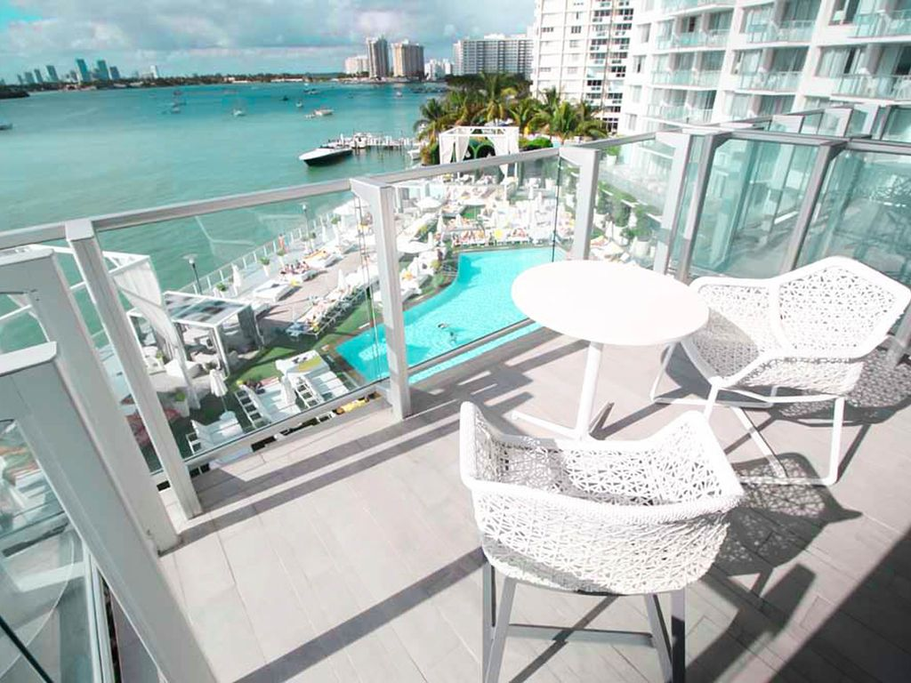 1100 West 2 Bedroom 2 Bathroom Bay View Balcony Suite Miami Beach Florida South Atlantic Coast