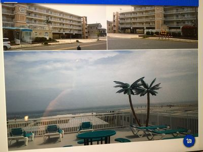 Photo for Beautiful 2 Bedroom, 2 Bath SURF SONG Condo's North WIldwood 2 POOLS Oceanview!!